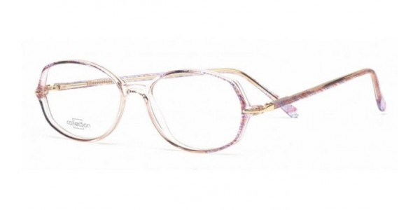 Collection C6219 Clear & Purple *
