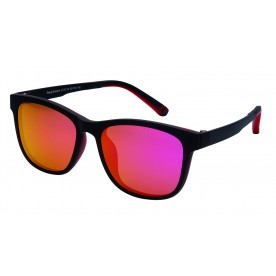 London Club LC 10 Black & Red with Detachable Magnetic Sunglass