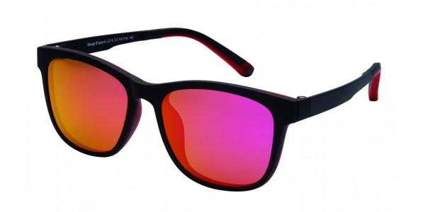London Club LC 10 Black Red Detachable Magnetic Sunglass