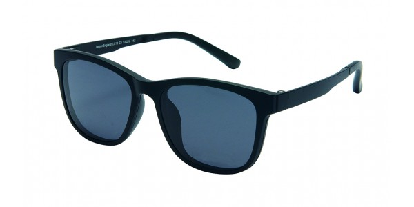 London Club LC 10 Black Detachable Magnetic Sunglass