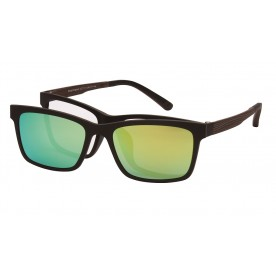 London Club LC 11 Brown with Detachable Magnetic Sunglass