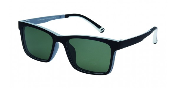 London Club LC 11 Black & Grey with Detachable Magnetic Sunglass