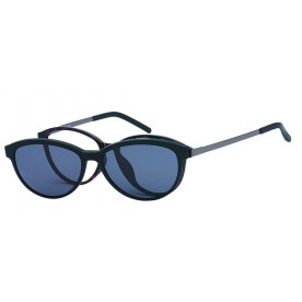London Club LC 103 Brown and Copper with Detachable Magnetic Sunglass