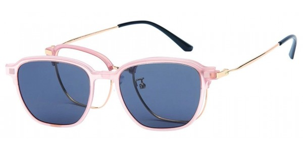 London Club LC 109 Pink and Gold with Detachable Magnetic Sunglass