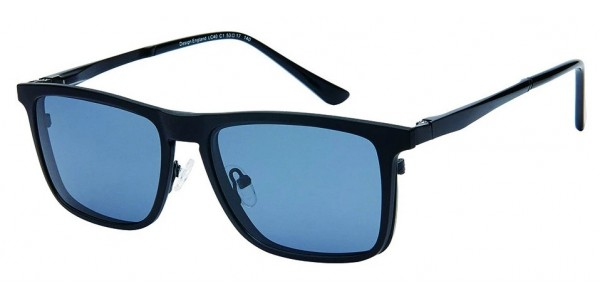London Club LC 40 Black with Detachable Magnetic Sunglass