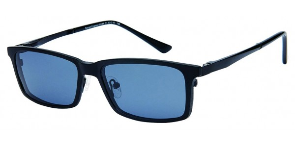 London Club LC 41 Black with Detachable Magnetic Sunglass
