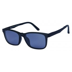 London Club LC 53 Black with Detachable Magnetic Sunglass