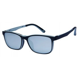 London Club LC 53 Black & Grey with Detachable Magnetic Sunglass