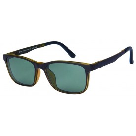 London Club LC 53 Brown with Detachable Magnetic Sunglass