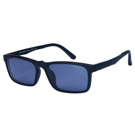 London Club LC 54 Black with Detachable Magnetic Sunglass