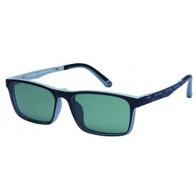 London Club LC 54 Black & Grey with Detachable Magnetic Sunglass