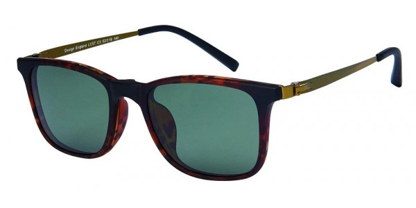 London Club LC 57 Tortoise with Detachable Magnetic Sunglass