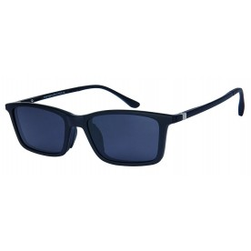 London Club LC 59 Black with Detachable Magnetic Sunglass