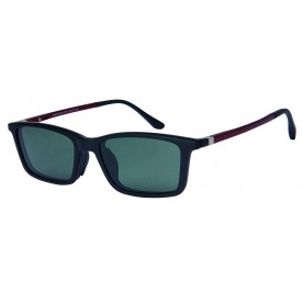 London Club LC 59 Black & Red with Detachable Magnetic Sunglass