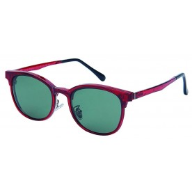London Club LC 93 Red & Silver with Detachable Magnetic Sunglass