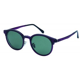 London Club LC 94 Purple & Silver with Detachable Magnetic Sunglass