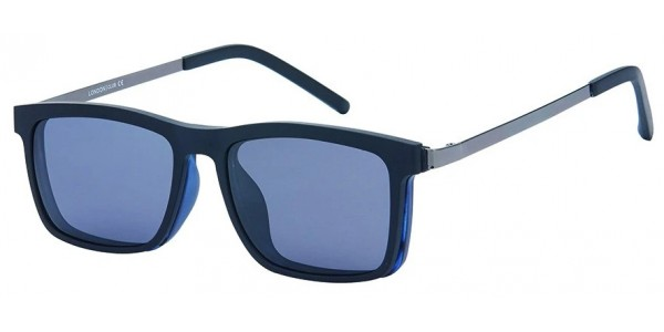 London Club LC 104 Blue and Black with Detachable Magnetic Sunglass