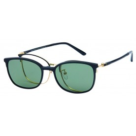 London Club LC 105 Black and Gold with Detachable Magnetic Sunglass