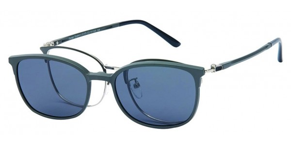 London Club LC 105 Grey and Silver with Detachable Magnetic Sunglass