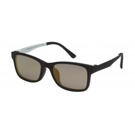 London Club LC 12 Black  with Detachable Magnetic Sunglass