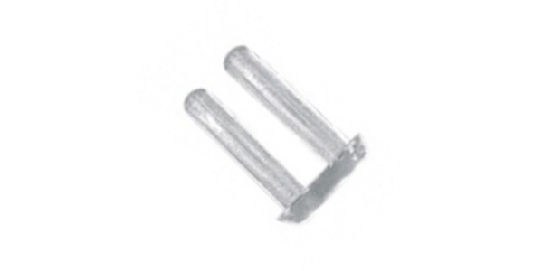 Rimless mounting plugs